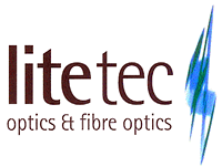 litetec logo optics and fibre optics